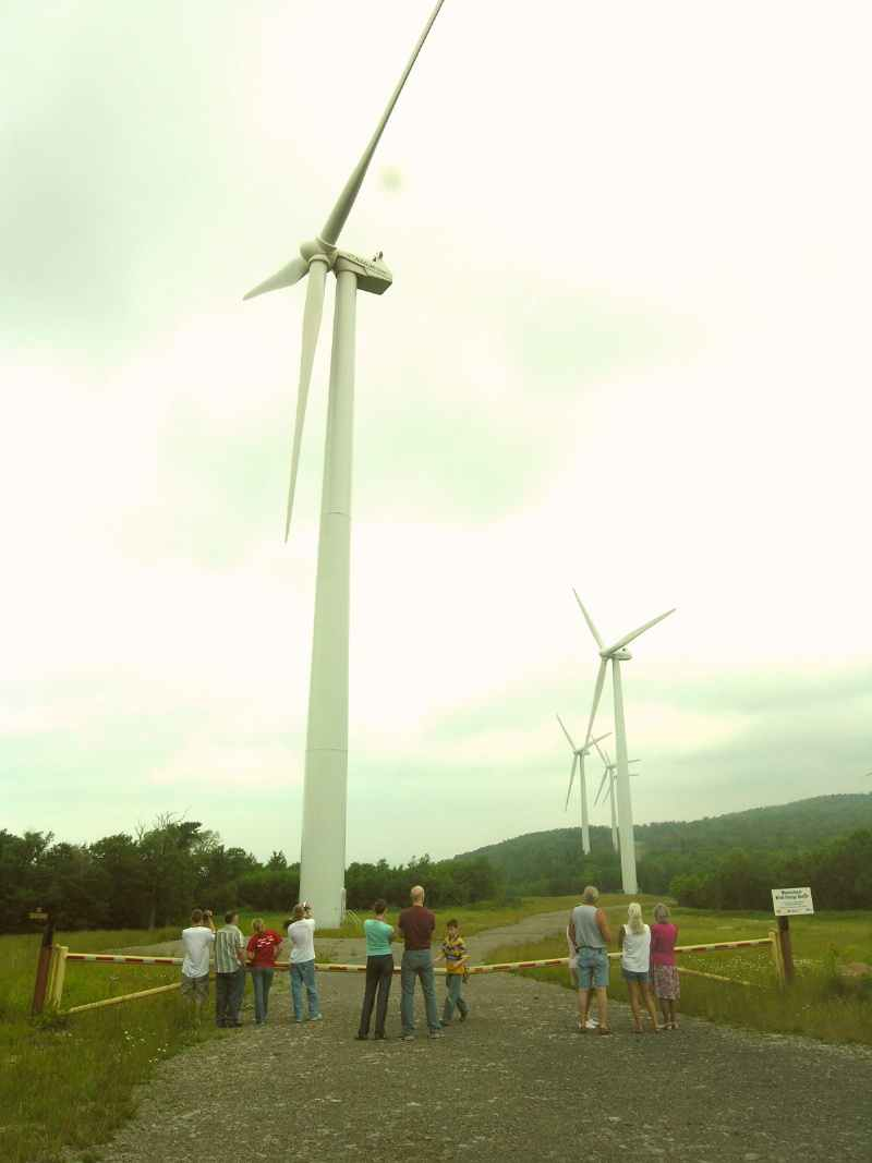 WV Windmill Tourists
